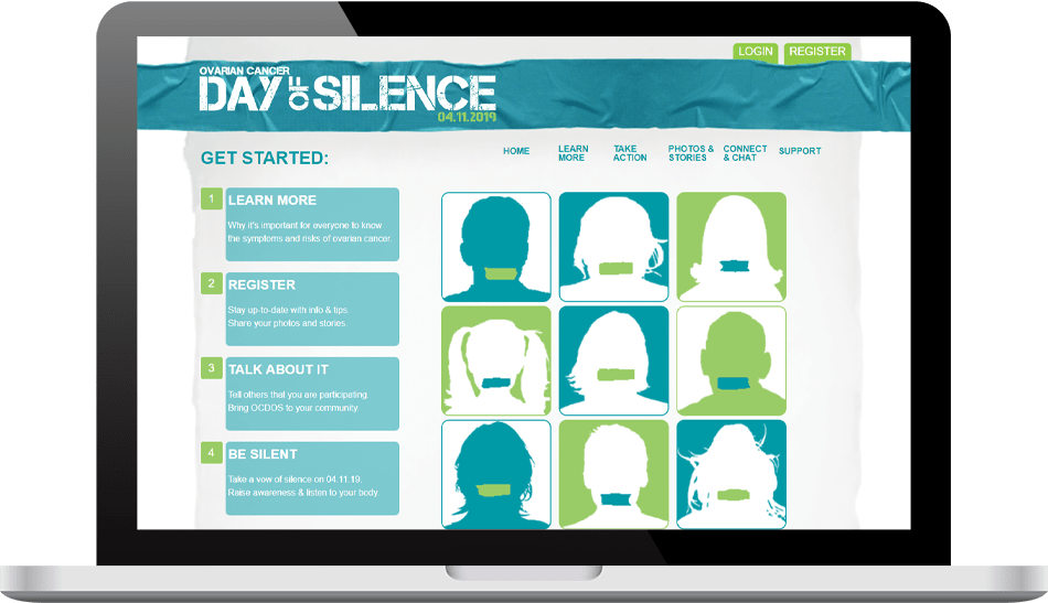Ovarian Cancer Day of Silence